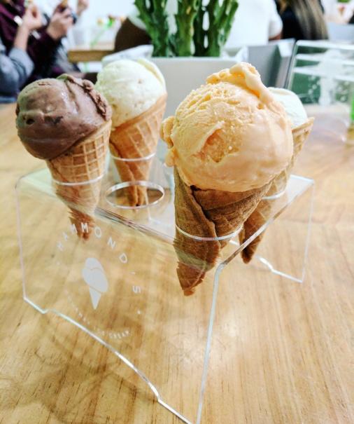 Hammond's ice cream in San Diego