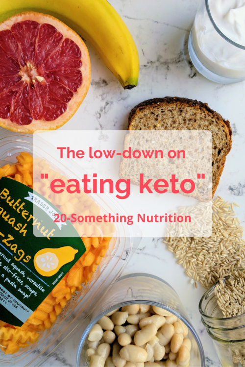the low-down on eating keto