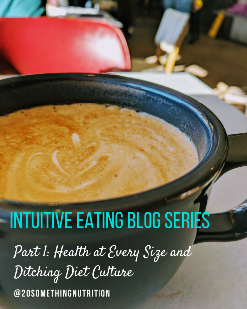 Intuitive Eating Blog Series 1