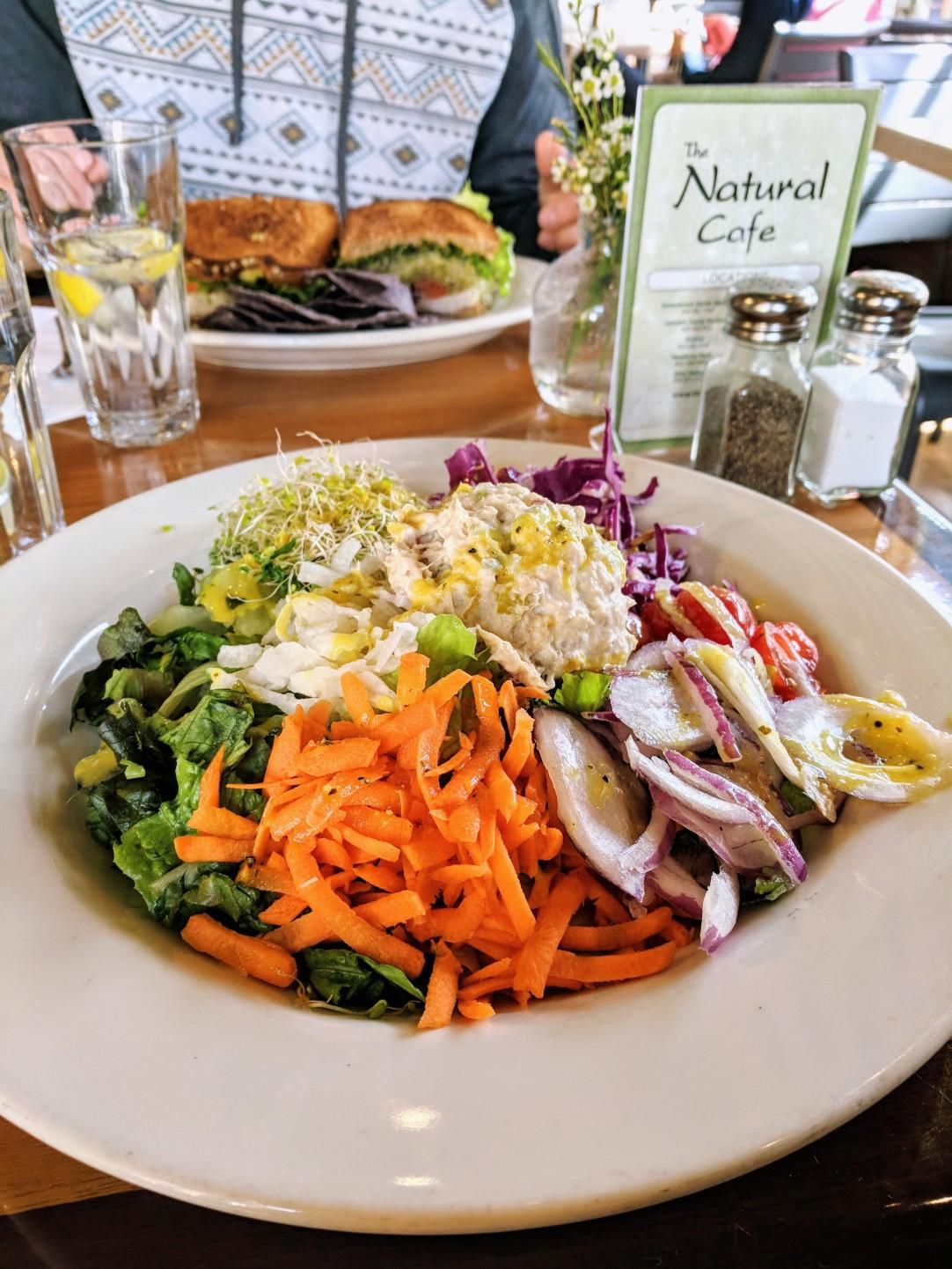 My favorite salad at Natural Cafe