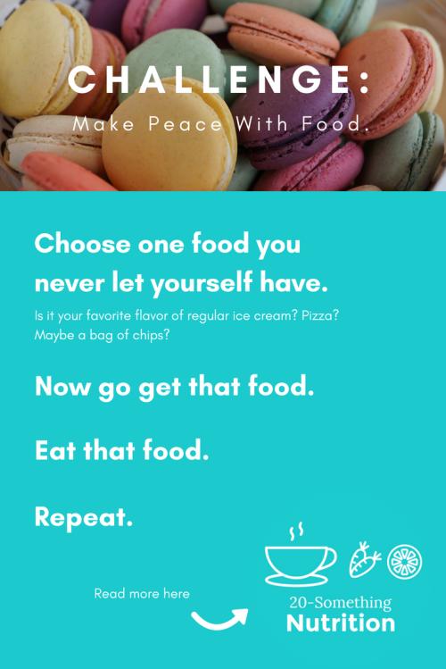 food peace challenge